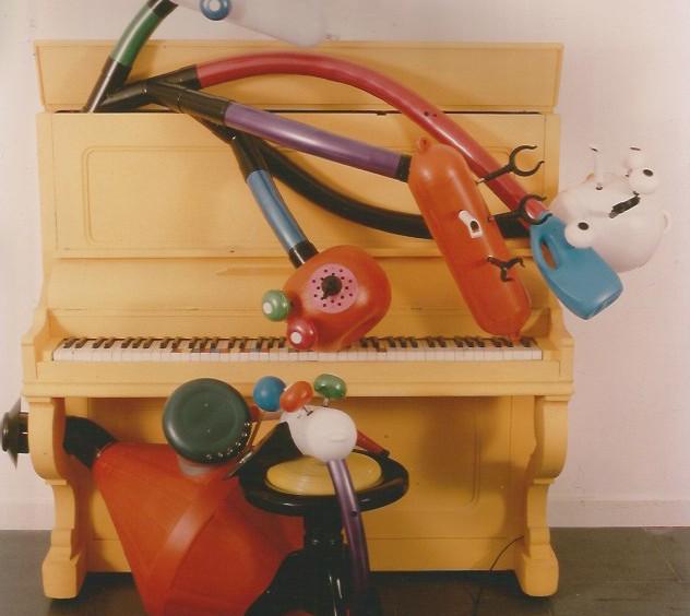 OBSERVING PIANO - MUDIMA Foundation 1989