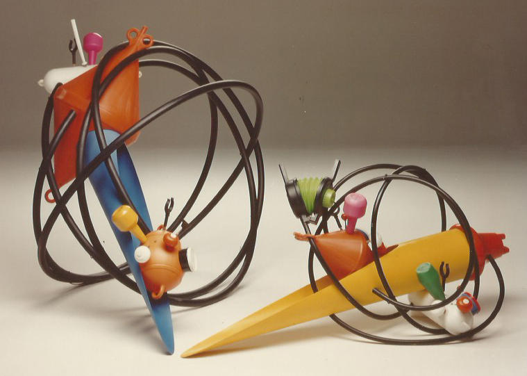 Sound Sculptures - Festival Due Mondi, Spoleto 1991