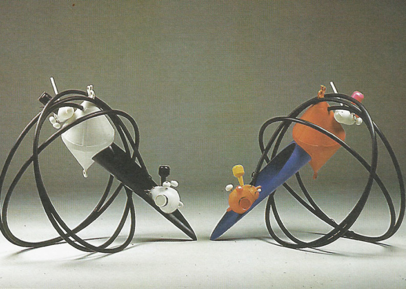 Talking Sculptures - La Nuova Pesa, Roma 1992
