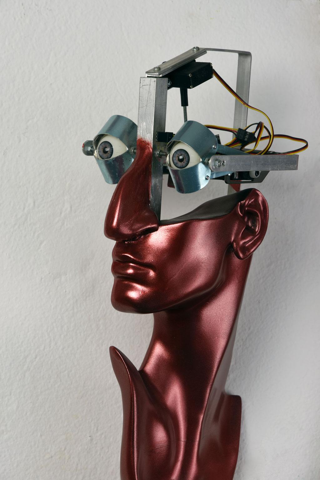 Robot portraits, Dante Alighieri, 2015